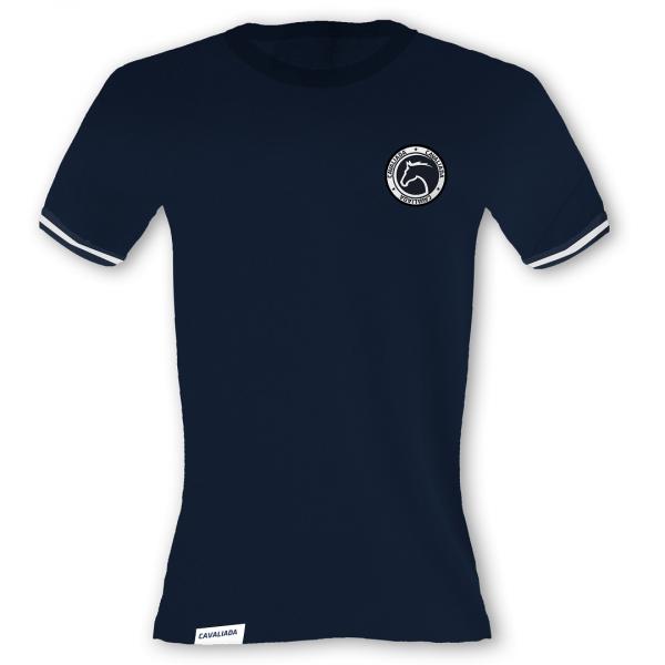 T-Shirt męski granatowy