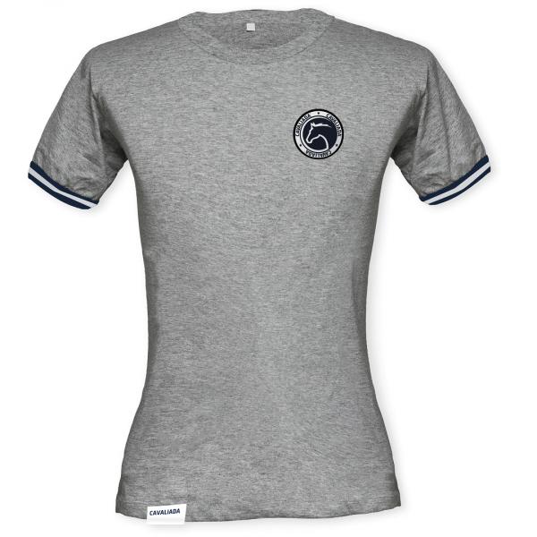 T-shirt męski szary